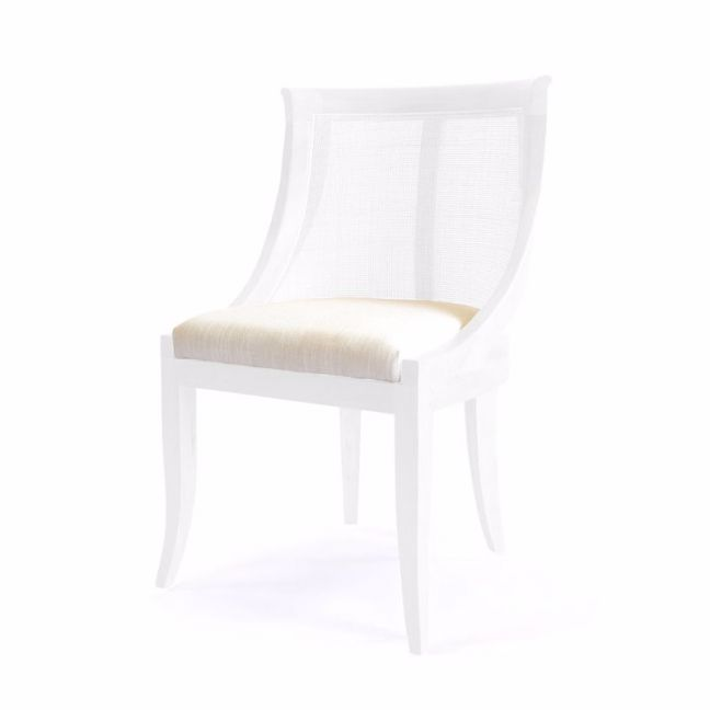Madrid Side Chair | White | by Black Mango | PRE-ORDER OCTOBER 2021 ARRIVAL