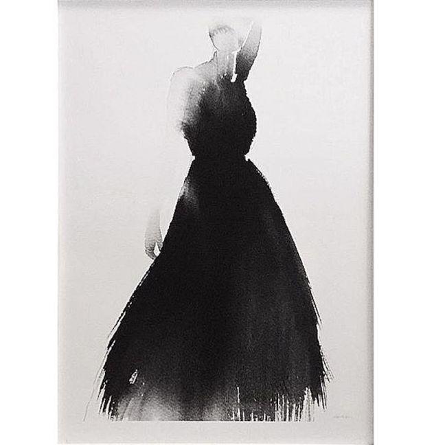 Magdalena Tyboni | Lady In Black Art Print