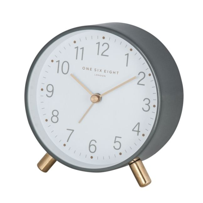 Maisie Grey Alarm Clock by One Six Eight London