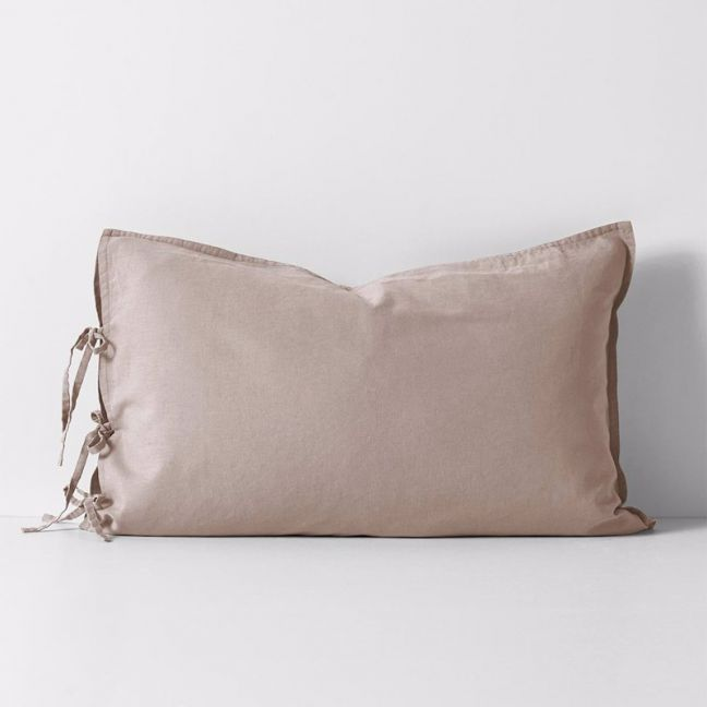 Maison Vintage Standard Pillowcase | Nude | by Aura Home