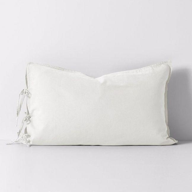 Maison Vintage Standard Pillowcase   White   by Aura Home