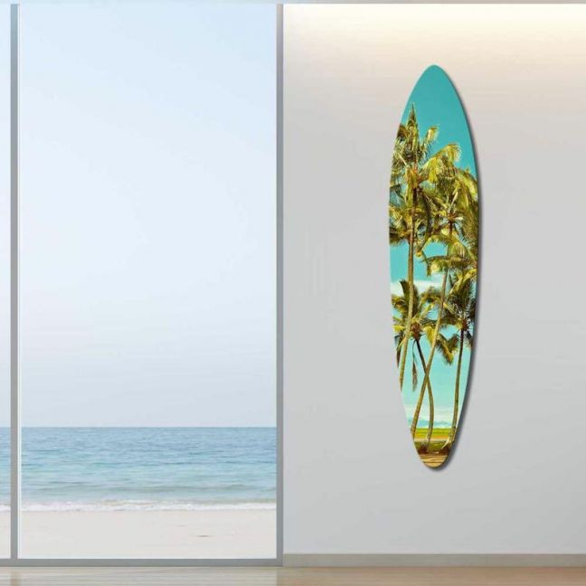 Malibu Palms | Acrylic Board By United Interiors