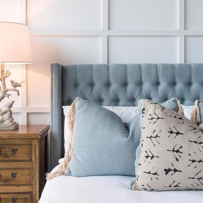 Margaux Bedhead French Blue   Various Sizes