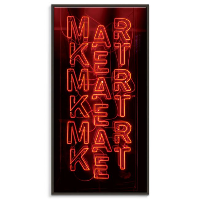 Market | Canvas or Print by Artist Lane