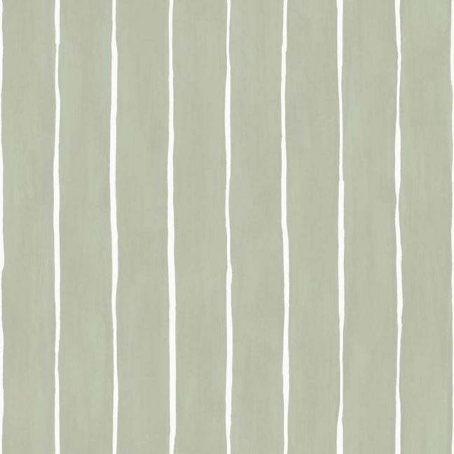 Marquee Stripe Wallpaper - Olive