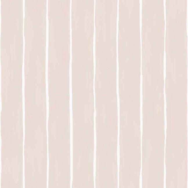 Marquee Stripe Wallpaper - Pink