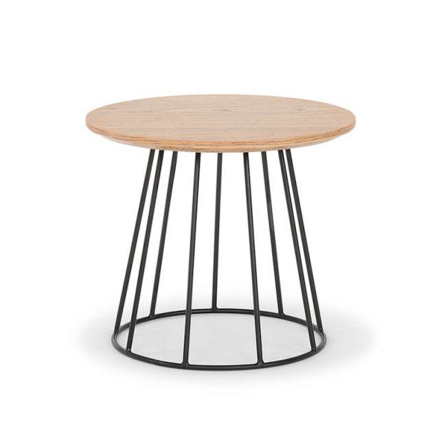 Mason Oak Side Table | Smoked Oak by SATARA