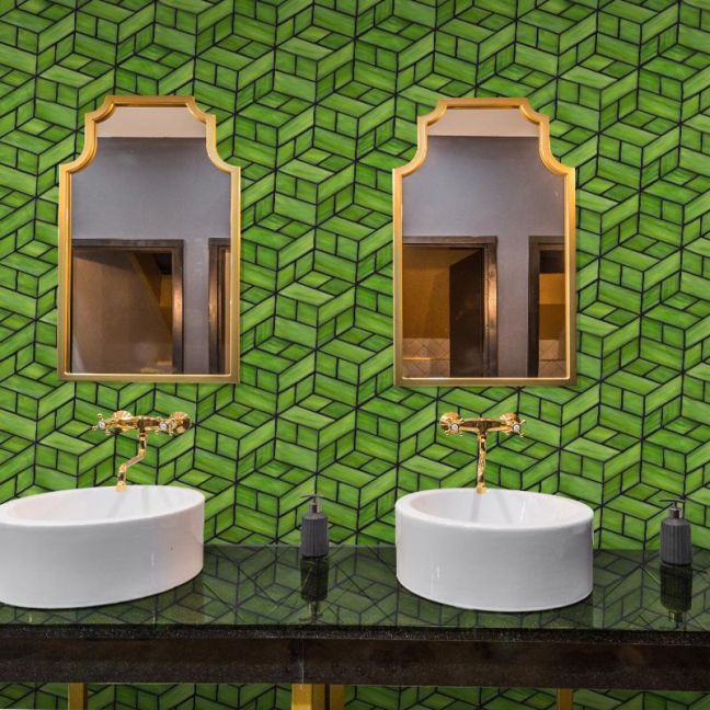 Maurimosaic Glass Mosaic Tile | Perspectiva | Various Colours