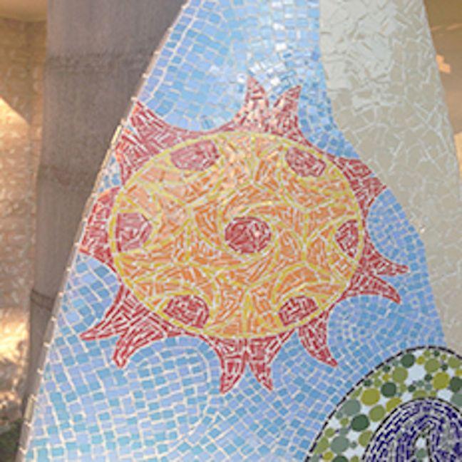 Maurimosaic Handmade Decorative Surf Board