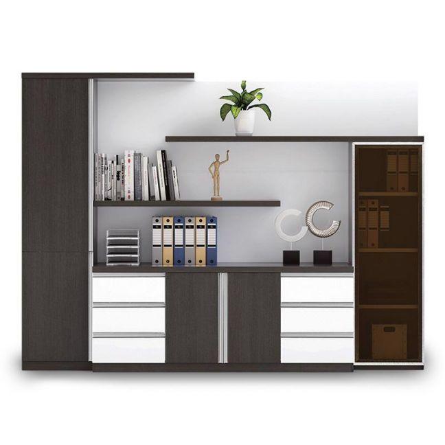 Maverick Display Cabinet   Black + White   Modern Furniture