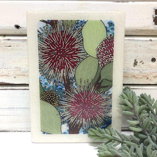 Maxi Woodblock | Sea Urchin Hakea