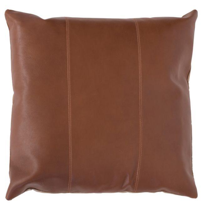 Maxine Leather Cushion | Tan | by Klovah