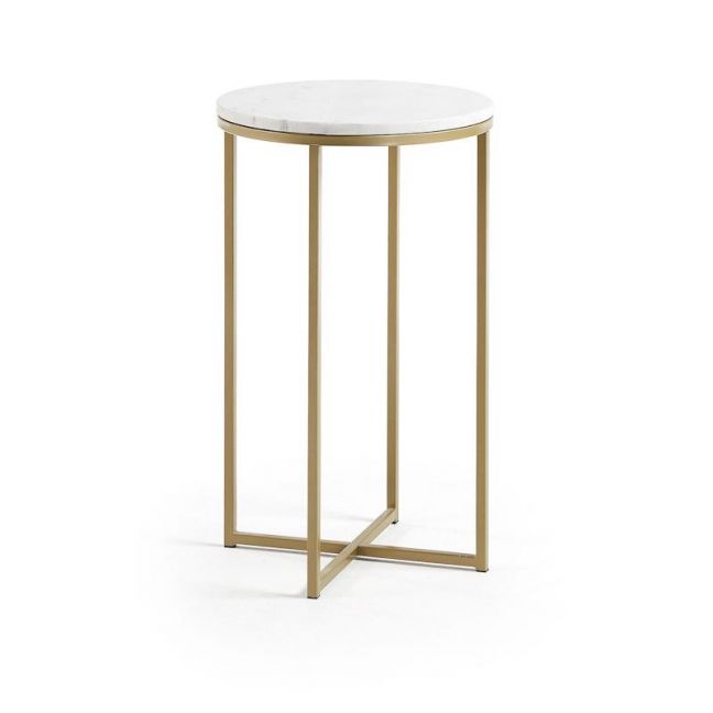 Maxwell Side Table | Marble