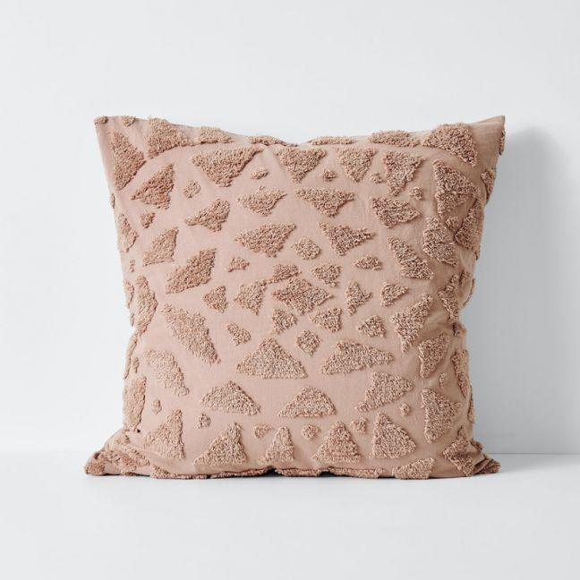 Maya European Pillowcase   Rosewater   by Aura Home