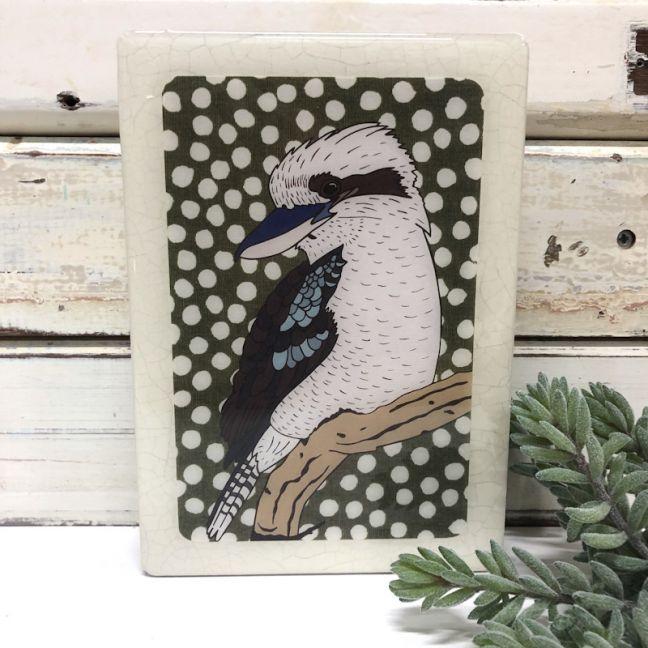 Medi Woodblock | Kookaburra