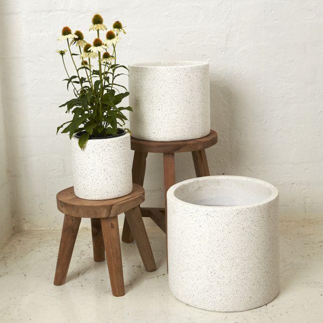 Meike Flecked Pots