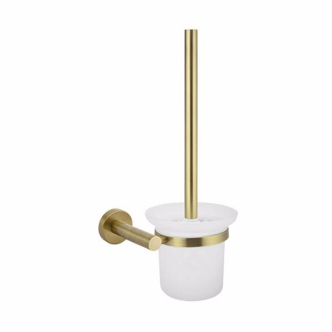 Meir Round Tiger Bronze Toilet Brush