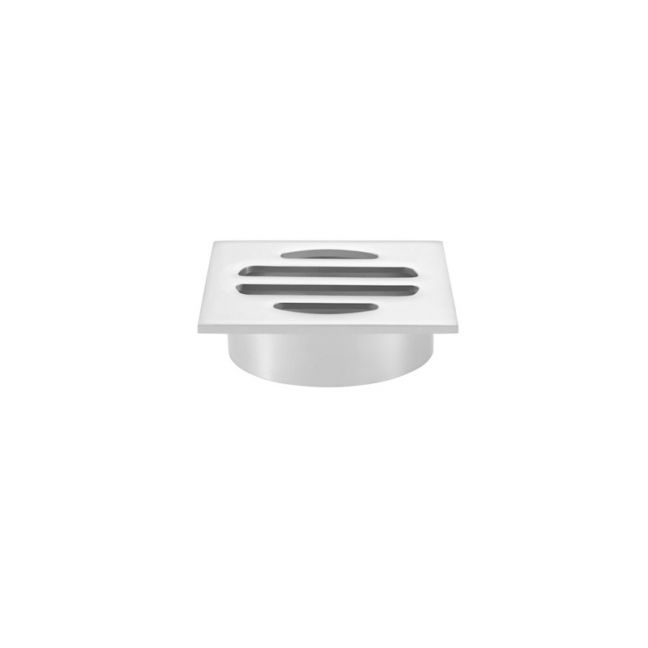 Meir Square Chrome Floor Grate Shower Drain 50mm outlet
