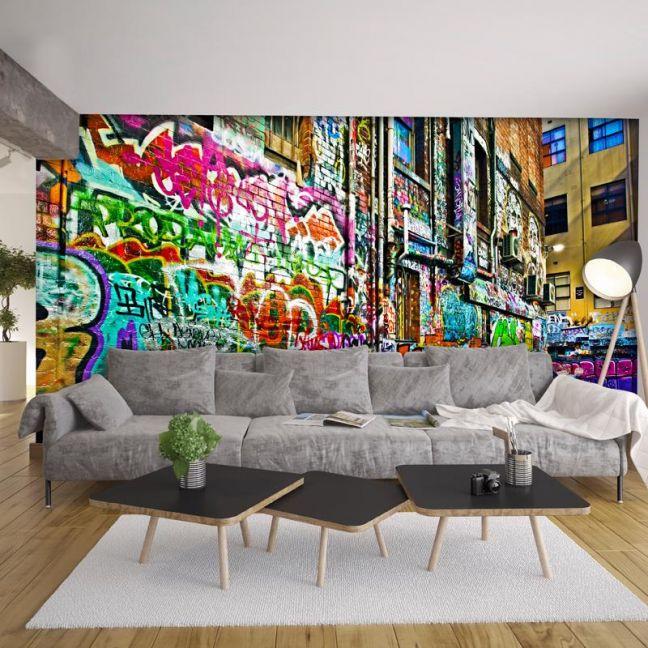Melbourne Graffiti Laneway | Wallpaper