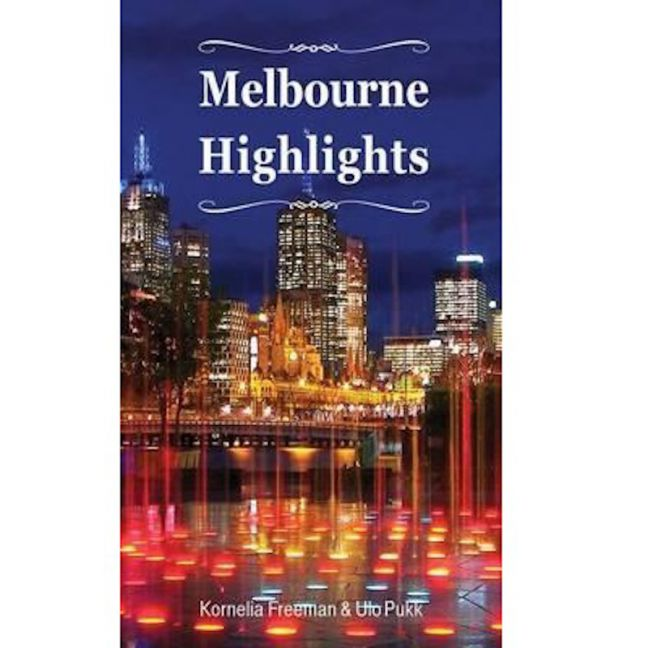Melbourne Highlights   Coffee Table Book