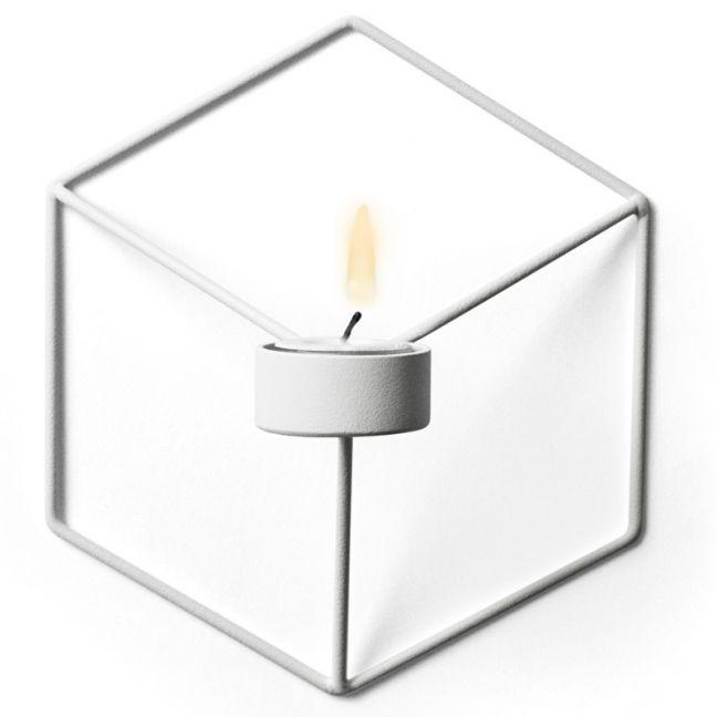 Menu POV Candleholder Wall | White