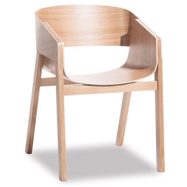 Merano Natural Oak Armchair