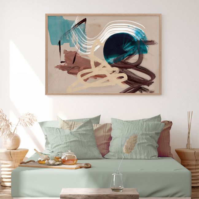 Messy Thoughts II | Canvas Art Print
