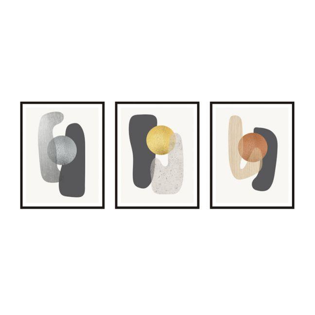 Metallic Compound | Framed Prints Set | ArteFocus
