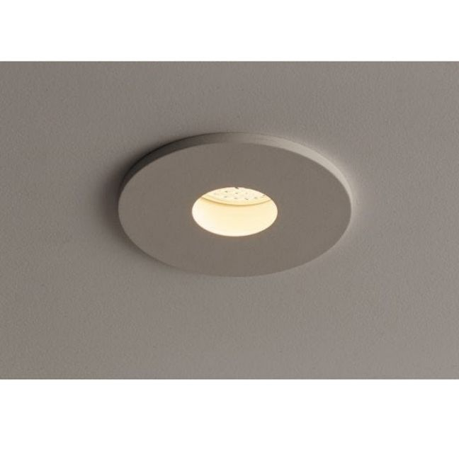 MFL By Masson Accent Pinhole Adjustable LED Dimmable White Downlight in Warm White | Beacon Lighting