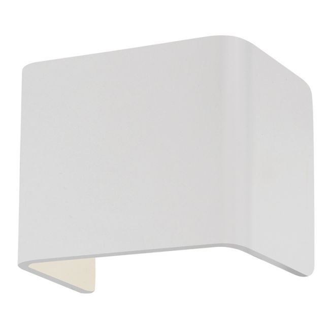 MFL By Masson Cuba LED 10W White Wall Light in Warm White | By Beacon Lighting