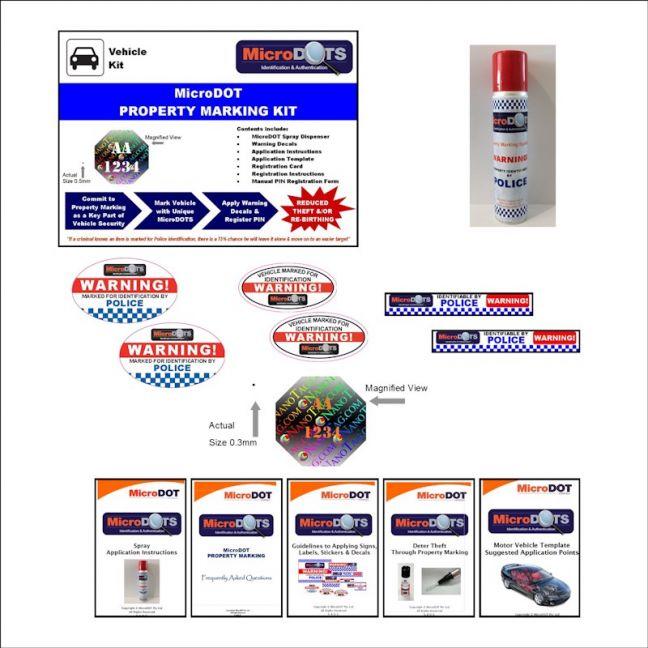 MicroDOT Car Kit