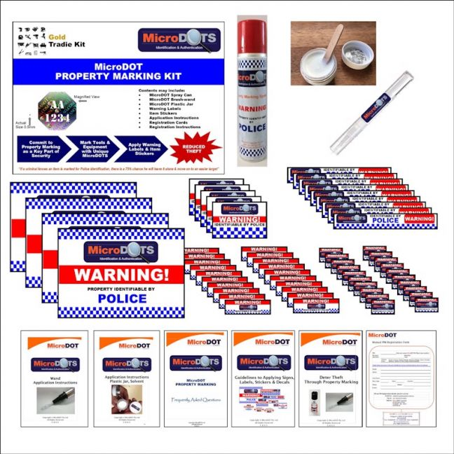 MicroDOT Tradesman Kit | Gold