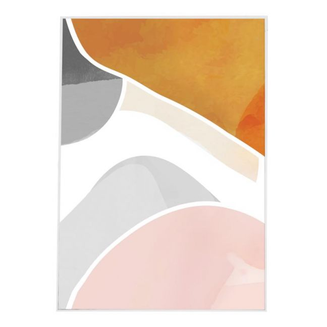 Mid Century Waves | Canvas Art Print