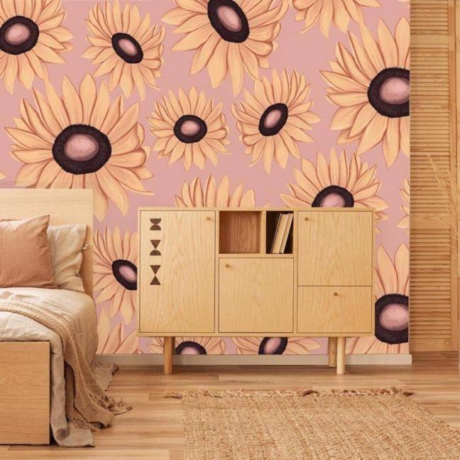 Milla's Sunflowers Wallpaper