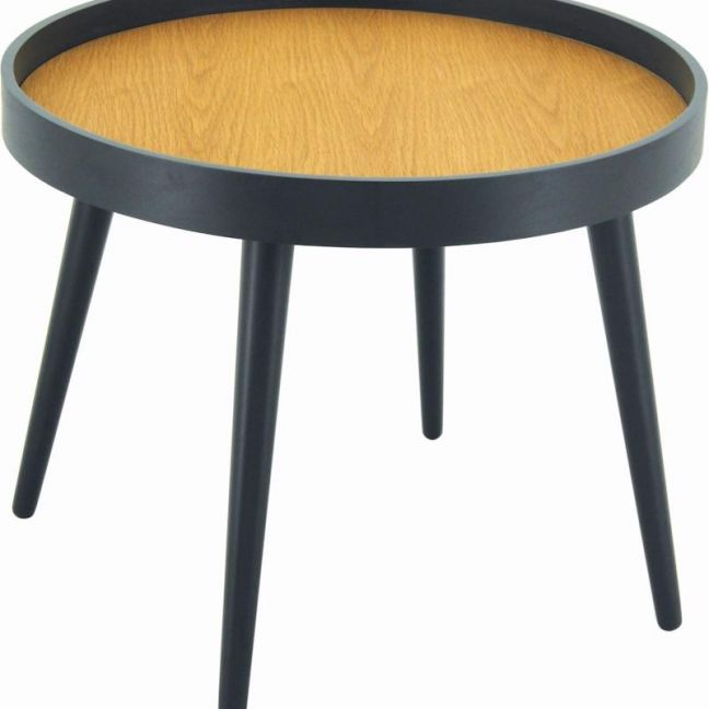 Millard Coffee Table | 55cm | Oak + Black Ash | Modern Furniture