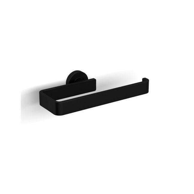 Milli Axon Mk2 Guest Towel Holder Black   Reece