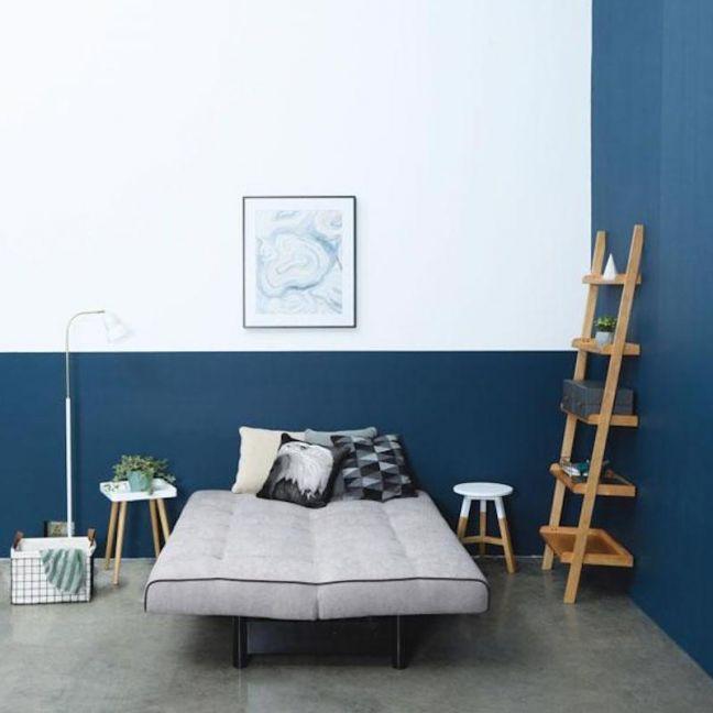 Milt Leaning Bookcase | Natural | Modern Furniture