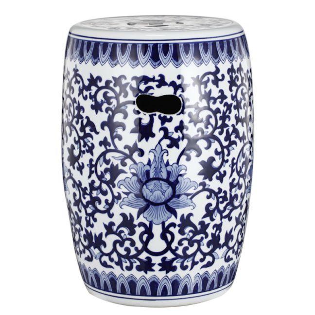 Ming Decorator Ceramic Stool