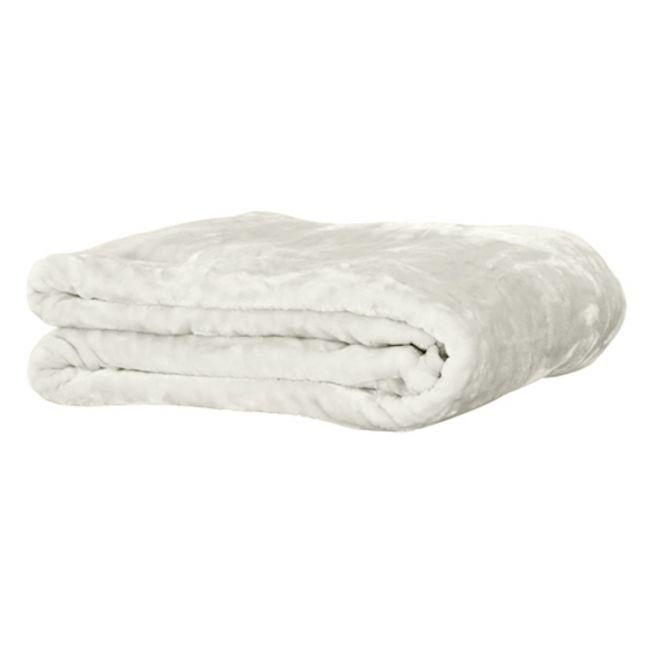 Mink Blanket l Ivory