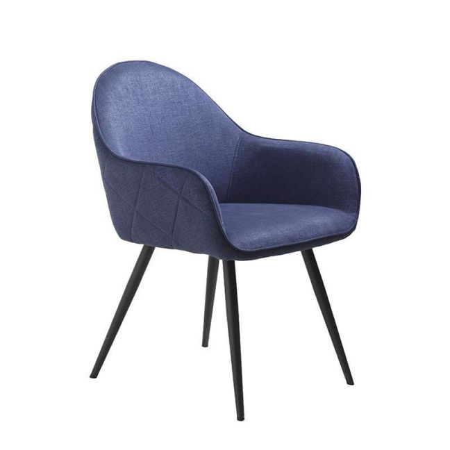 Minto Arm Chair   Blue
