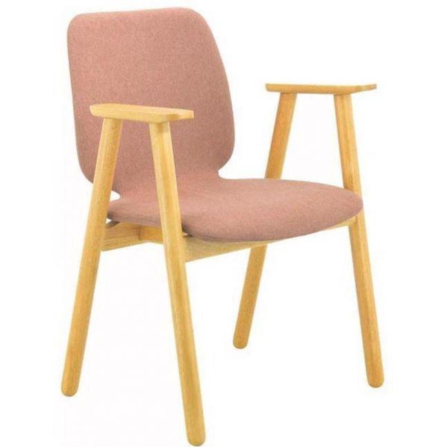 Missie Arm Chair | Oak + Burnt Umber | Modern Furniture