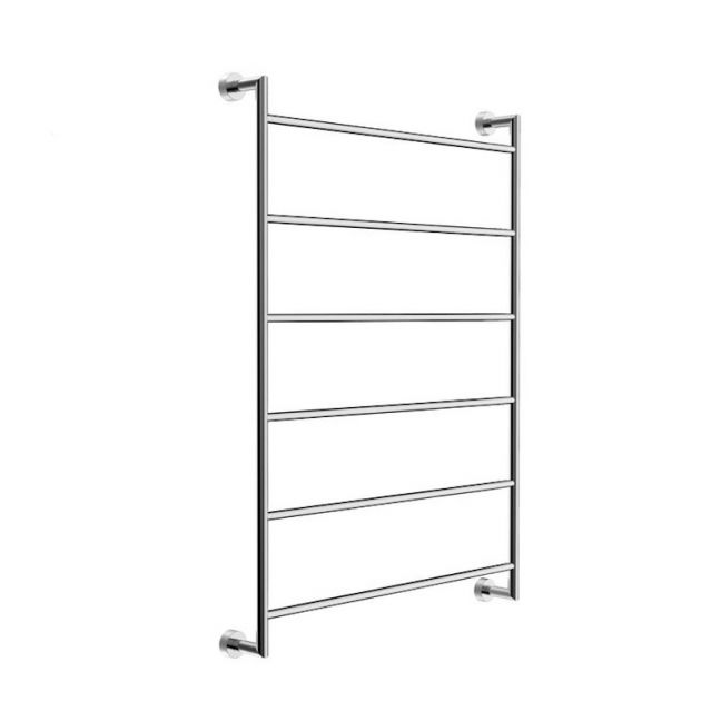 Mizu Drift Heated Towel Rail Polished Stainless Steel
