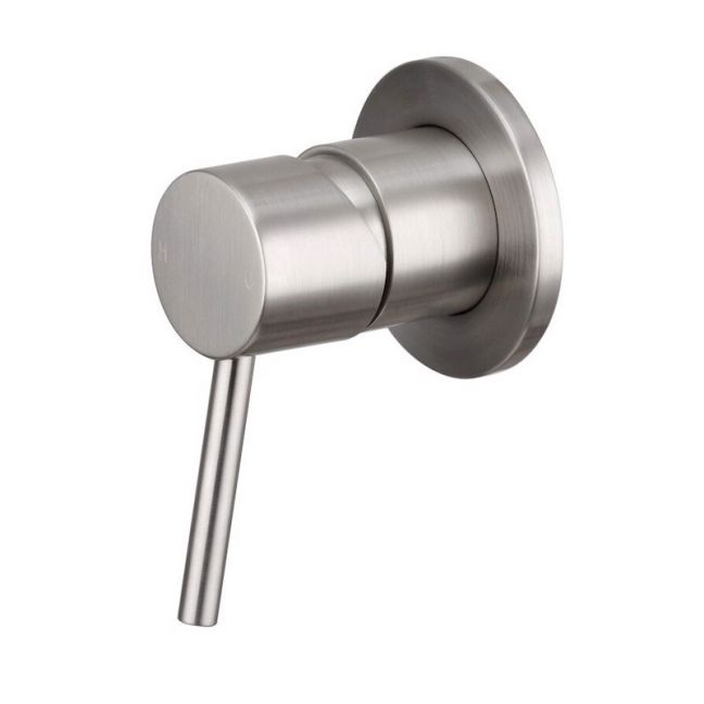 Mizu Drift MK2 Shower Mixer Tap Brushed Nickel