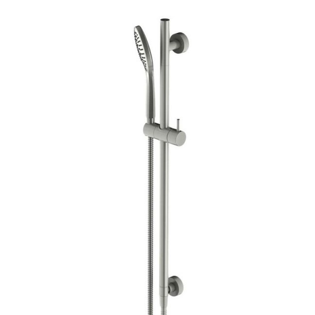 Mizu Drift Single Waterrail Brushed Nickel