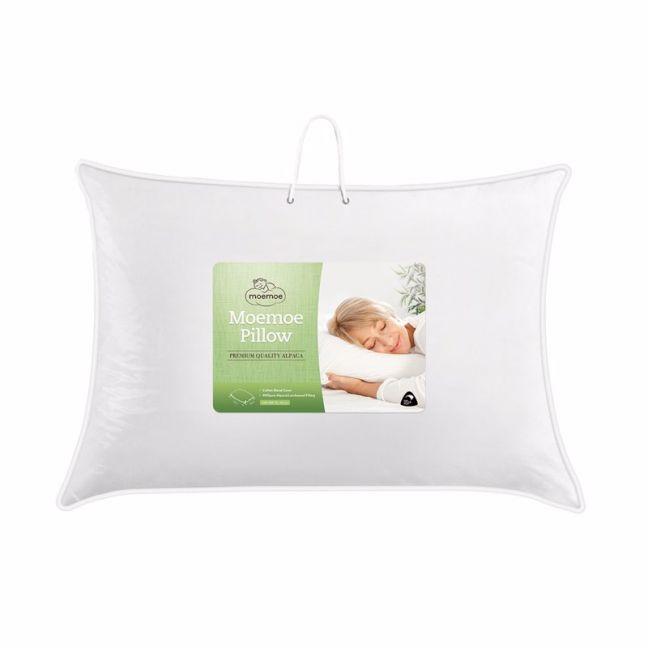 Moemoe Alpaca/Lambs wool Blend Premium Pillow 74x48cm