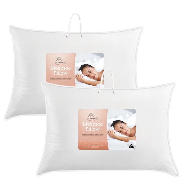 Moemoe Wool Blend Pillow Pack