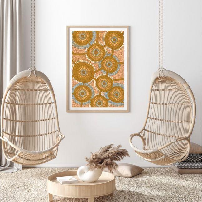 Moiyum Durungul | Framed Canvas Print by Brad Turner