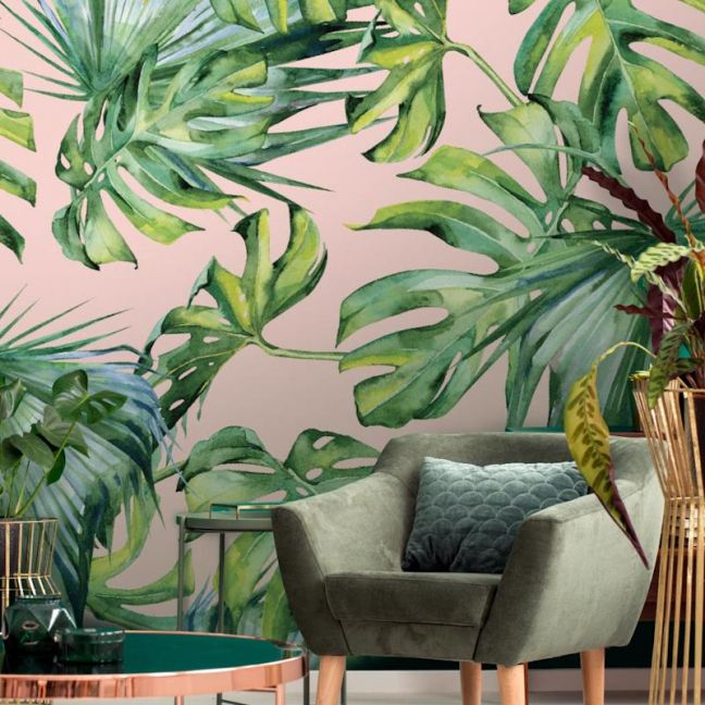 Monstera Watercolour | Wallpaper
