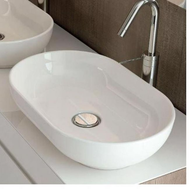 Moon Oval Above Counter Basin