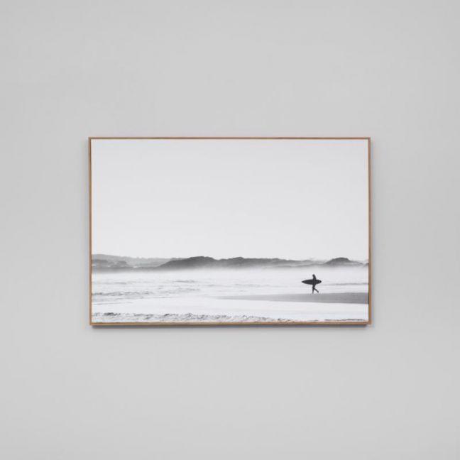 Morning Surf | Framed Canvas